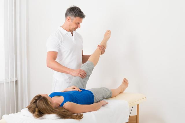 施術とトレーニング