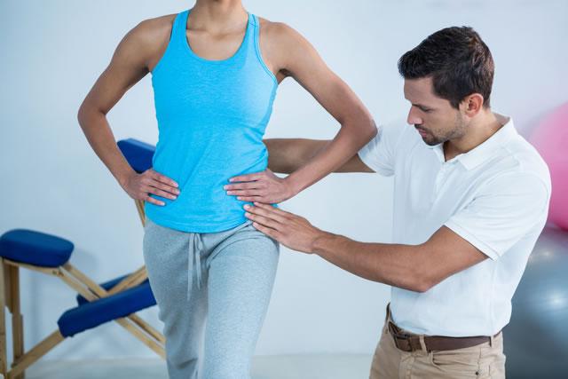 姿勢や動作を改善するトレーニングも対応